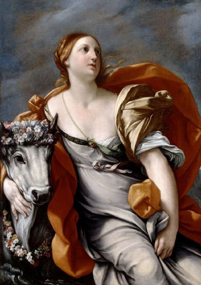 Reni, Guido: Europa and the Bull. Fine Art Print/Poster. Sizes: A4/A3/A2/A1 (002105)